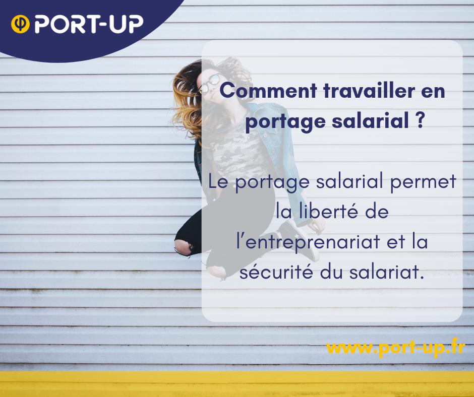 Agence portage IT Paris - PORT-UP